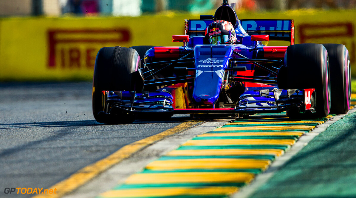 MELBOURNE, AUSTRALIA - MARCH 26:  Daniil Kvyat of Scuderia Toro Rosso and Russia during the Australian Formula One Grand Prix at Albert Park on March 26, 2017 in Melbourne, Australia.  (Photo by Peter Fox/Getty Images) // Getty Images / Red Bull Content Pool  // P-20170326-00468 // Usage for editorial use only // Please go to www.redbullcontentpool.com for further information. //  Australian F1 Grand Prix Peter Fox Melbourne Australia  P-20170326-00468
