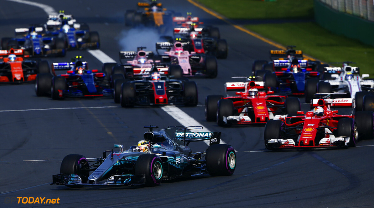 Albert Park, Melbourne, Australia. Sunday 26 March 2017. World Copyright: Andy Hone/LAT Images ref: Digital Image _ONY2411      f1 formula 1 formula one gp grand prix
