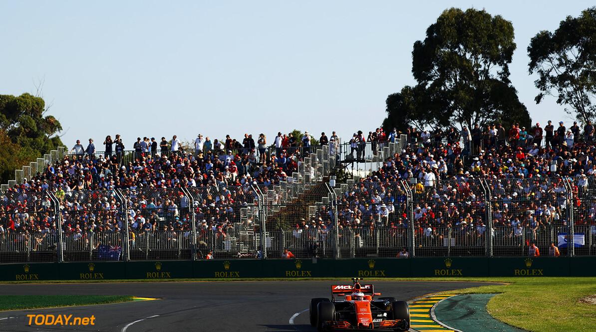 Albert Park, Melbourne, Australia. Sunday 26 March 2017. Stoffel Vandoorne, McLaren MCL32 Honda.  World Copyright: Glenn Dunbar/McLaren. Ref: Digital Image _X4I3281  Glenn Dunbar    Formula F1 Australian GP Grand Prix Action