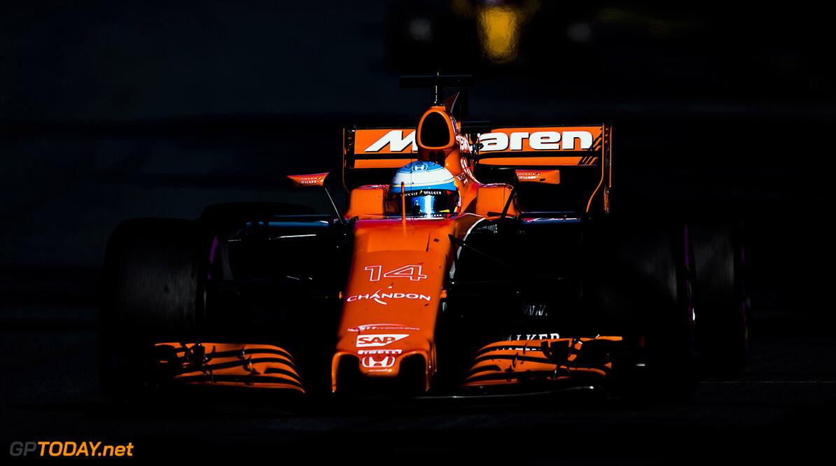 Albert Park, Melbourne, Australia. Sunday 26 March 2017. Fernando Alonso, McLaren MCL32 Honda.  World Copyright: Sam Bloxham/McLaren. Ref: Digital Image _94I0864 2  Zak Mauger    f1 formula 1 formula one Formula Australian GP Grand Prix Action