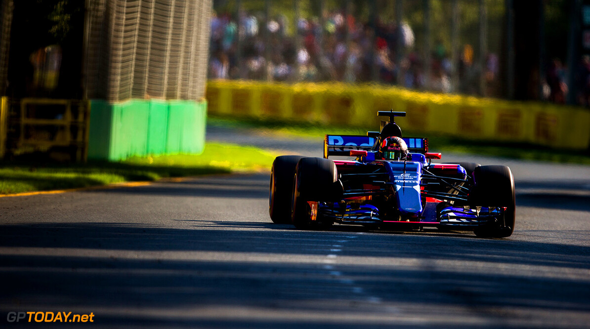 MELBOURNE, AUSTRALIA - MARCH 26:  Daniil Kvyat of Scuderia Toro Rosso and Russia during the Australian Formula One Grand Prix at Albert Park on March 26, 2017 in Melbourne, Australia.  (Photo by Peter Fox/Getty Images) // Getty Images / Red Bull Content Pool  // P-20170326-00459 // Usage for editorial use only // Please go to www.redbullcontentpool.com for further information. //  Australian F1 Grand Prix Peter Fox Melbourne Australia  P-20170326-00459