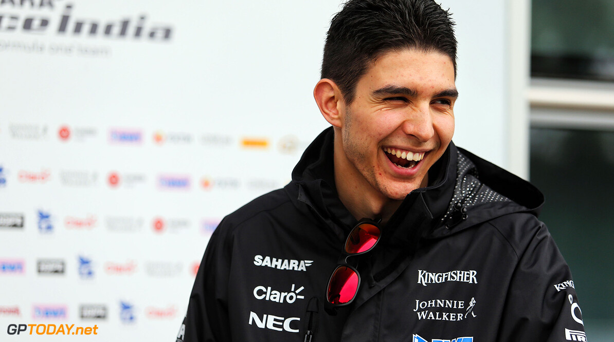 Formula One World Championship Esteban Ocon (FRA) Sahara Force India F1 Team. Chinese Grand Prix, Thursday 6th April 2017. Shanghai, China. Motor Racing - Formula One World Championship - Chinese Grand Prix - Preparation Day - Shanghai, China James Moy Photography Shanghai China  Formula One Formula 1 F1 GP Grand Prix China Chinese Shanghai Shanghai International Circuit JM685 Portrait GP1702a