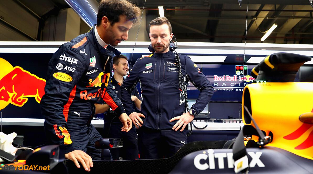 Red Bull Racing mist downforce aan de achterkant
