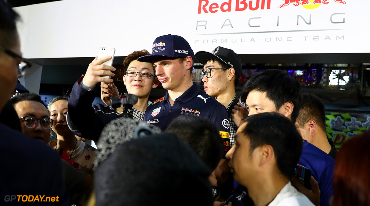 SHANGHAI, CHINA - APRIL 05:  Max Verstappen of the Netherlands and Red Bull Racing attends a karting event during previews to the Formula One Grand Prix of China at Shanghai International Circuit on April 5, 2017 in Shanghai, China.  (Photo by Mark Thompson/Getty Images) // Getty Images / Red Bull Content Pool  // P-20170405-01109 // Usage for editorial use only // Please go to www.redbullcontentpool.com for further information. //  F1 Grand Prix of China - Previews Mark Thompson  China  P-20170405-01109