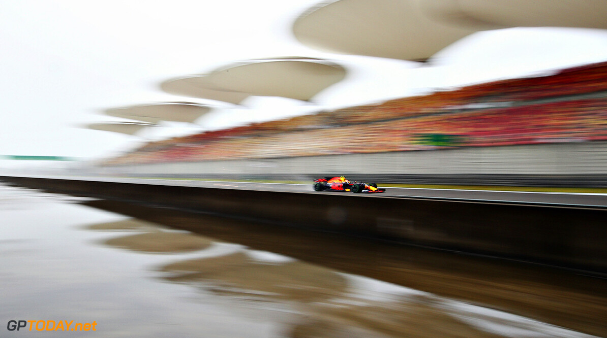SHANGHAI, CHINA - APRIL 07: Max Verstappen of the Netherlands driving the (33) Red Bull Racing Red Bull-TAG Heuer RB13 TAG Heuer on track during practice for the Formula One Grand Prix of China at Shanghai International Circuit on April 7, 2017 in Shanghai, China.  (Photo by Clive Mason/Getty Images) // Getty Images / Red Bull Content Pool  // P-20170407-00322 // Usage for editorial use only // Please go to www.redbullcontentpool.com for further information. //  F1 Grand Prix of China - Practice Clive Mason  China  P-20170407-00322