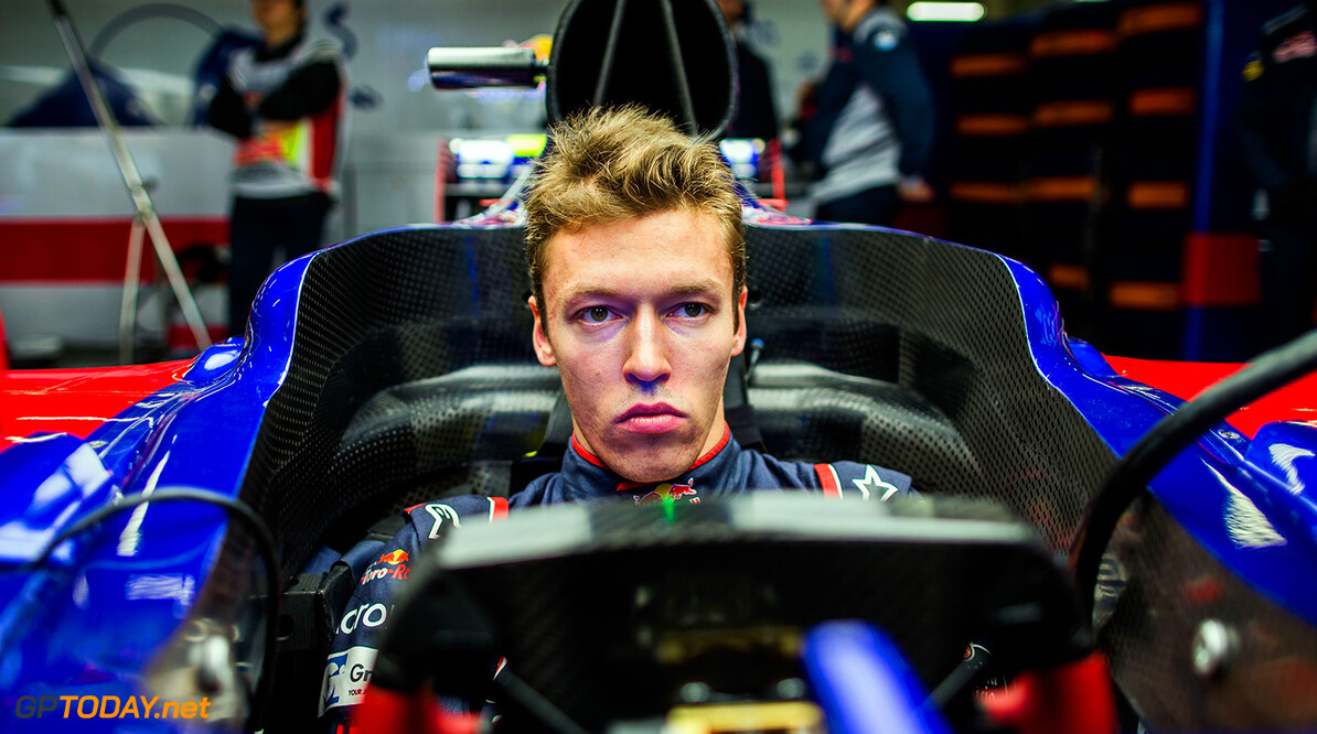 SHANGHAI, CHINA - APRIL 07:  Daniil Kvyat of Scuderia Toro Rosso and Russia during practice for the Formula One Grand Prix of China at Shanghai International Circuit on April 7, 2017 in Shanghai, China.  (Photo by Peter Fox/Getty Images) // Getty Images / Red Bull Content Pool  // P-20170407-00508 // Usage for editorial use only // Please go to www.redbullcontentpool.com for further information. //  F1 Grand Prix of China - Practice Peter Fox  China  P-20170407-00508