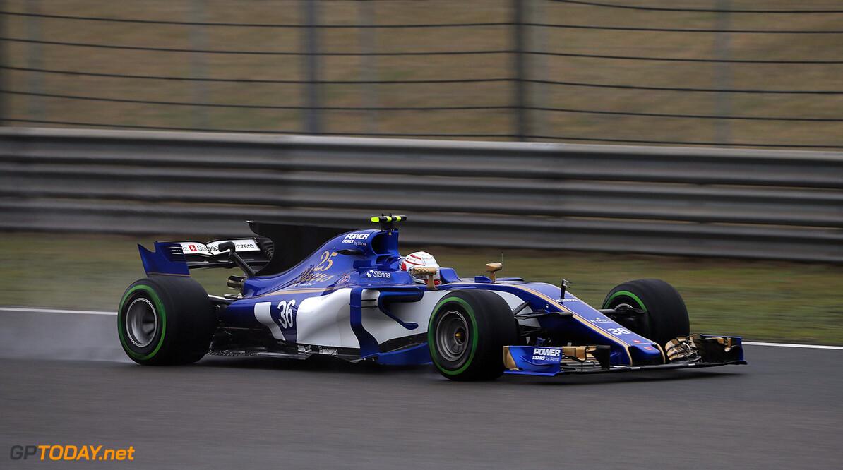 Chinese GP Friday 07/04/17 Antonio Giovinazzi (ITA), Sauber F1 Team. Shanghai International Circuit.  Chinese GP Friday 07/04/17 Jad Sherif                       Shanghai China  F1 Formula 1 One 2017 action Giovinazzi Sauber