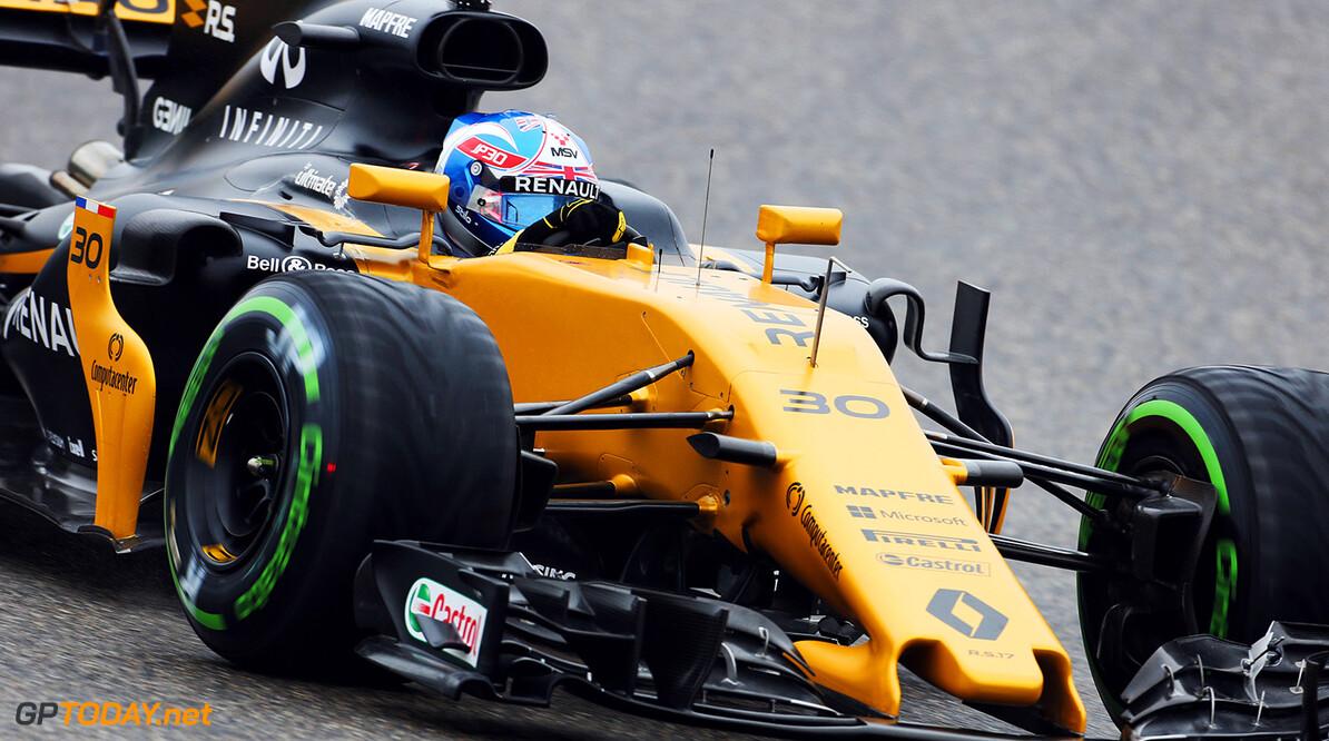 Grosjean en Palmer vijf plekken teruggezet