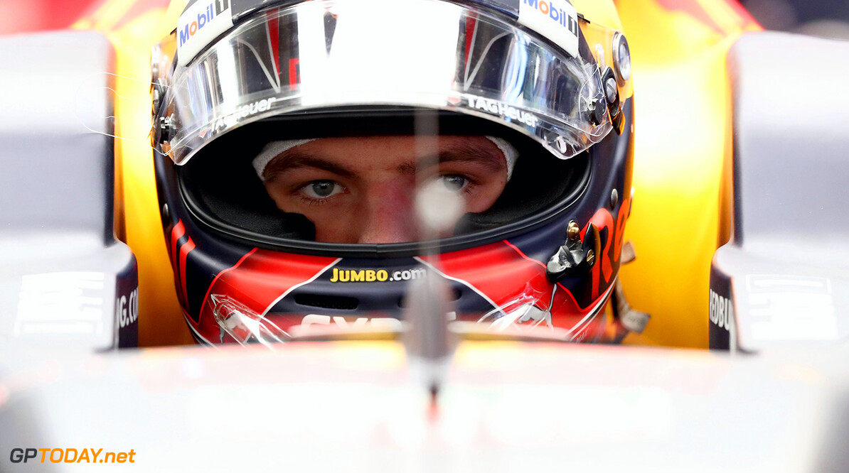 SHANGHAI, CHINA - APRIL 07:  Max Verstappen of Netherlands and Red Bull Racing in the garage during practice for the Formula One Grand Prix of China at Shanghai International Circuit on April 7, 2017 in Shanghai, China.  (Photo by Lars Baron/Getty Images) // Getty Images / Red Bull Content Pool  // P-20170407-00343 // Usage for editorial use only // Please go to www.redbullcontentpool.com for further information. //  F1 Grand Prix of China - Practice Lars Baron  China  P-20170407-00343