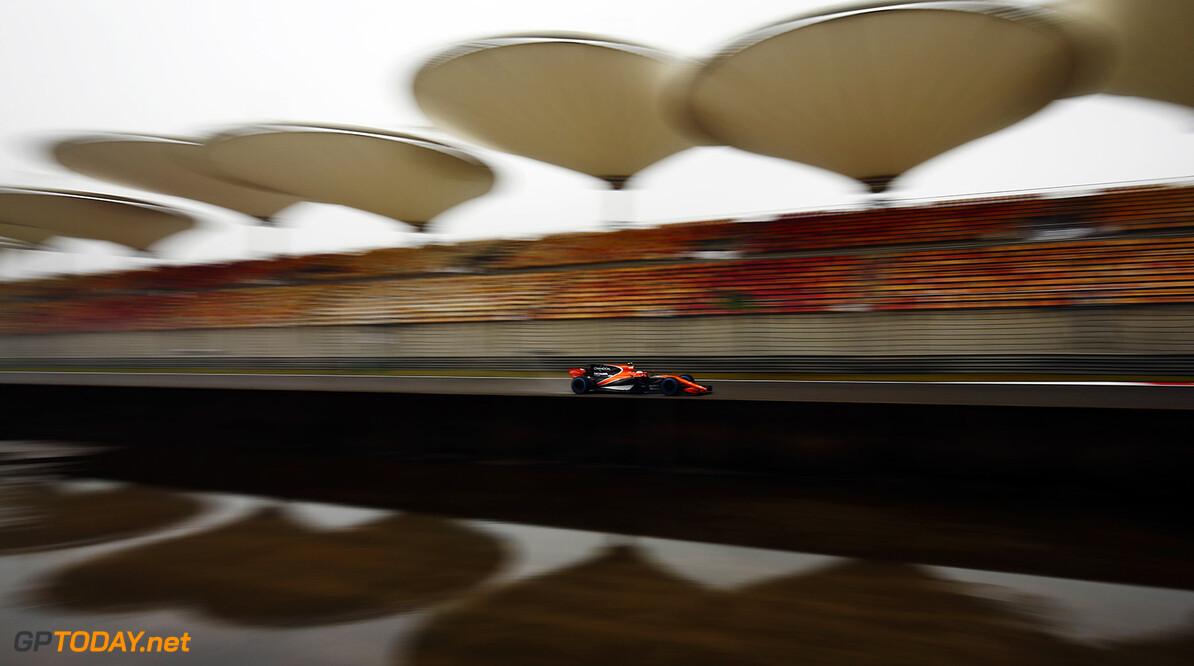 Shanghai International Circuit, Shanghai, China.  Friday 07 April 2017.  Stoffel Vandoorne, McLaren MCL32 Honda. World Copyright: Andrew Hone/McLaren  ref: Digital Image _ONZ3511 2017 Chinese Grand Prix     GP Grand Prix F1 Formula Action