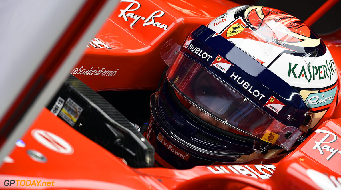 """Raikkonen: """"Veel punten scoren om in de race te blijven"""""""