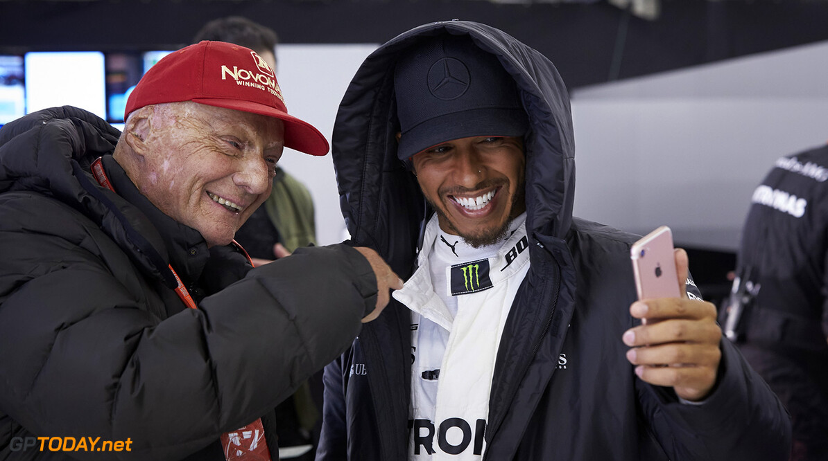 "Lauda labels Hamilton as the ""the greatest driver ever"""