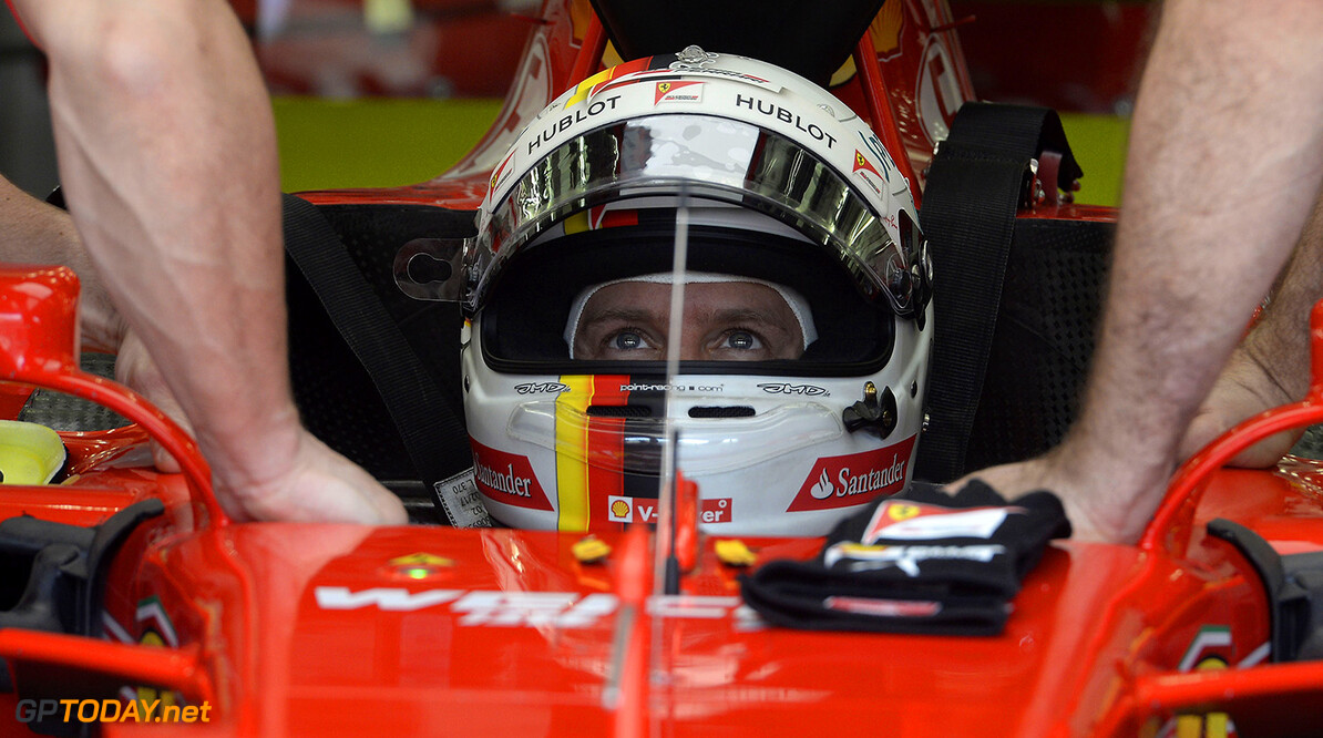 """Vettel """"over the moon"""" with pole position"""