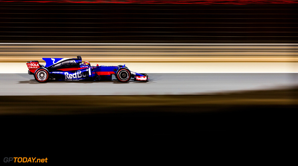 BAHRAIN, BAHRAIN - APRIL 16:  Daniil Kvyat of Scuderia Toro Rosso and Russia  during the Bahrain Formula One Grand Prix at Bahrain International Circuit on April 16, 2017 in Bahrain, Bahrain.  (Photo by Peter Fox/Getty Images) // Getty Images / Red Bull Content Pool  // P-20170416-01565 // Usage for editorial use only // Please go to www.redbullcontentpool.com for further information. //  F1 Grand Prix of Bahrain Peter Fox  Bahrain  P-20170416-01565