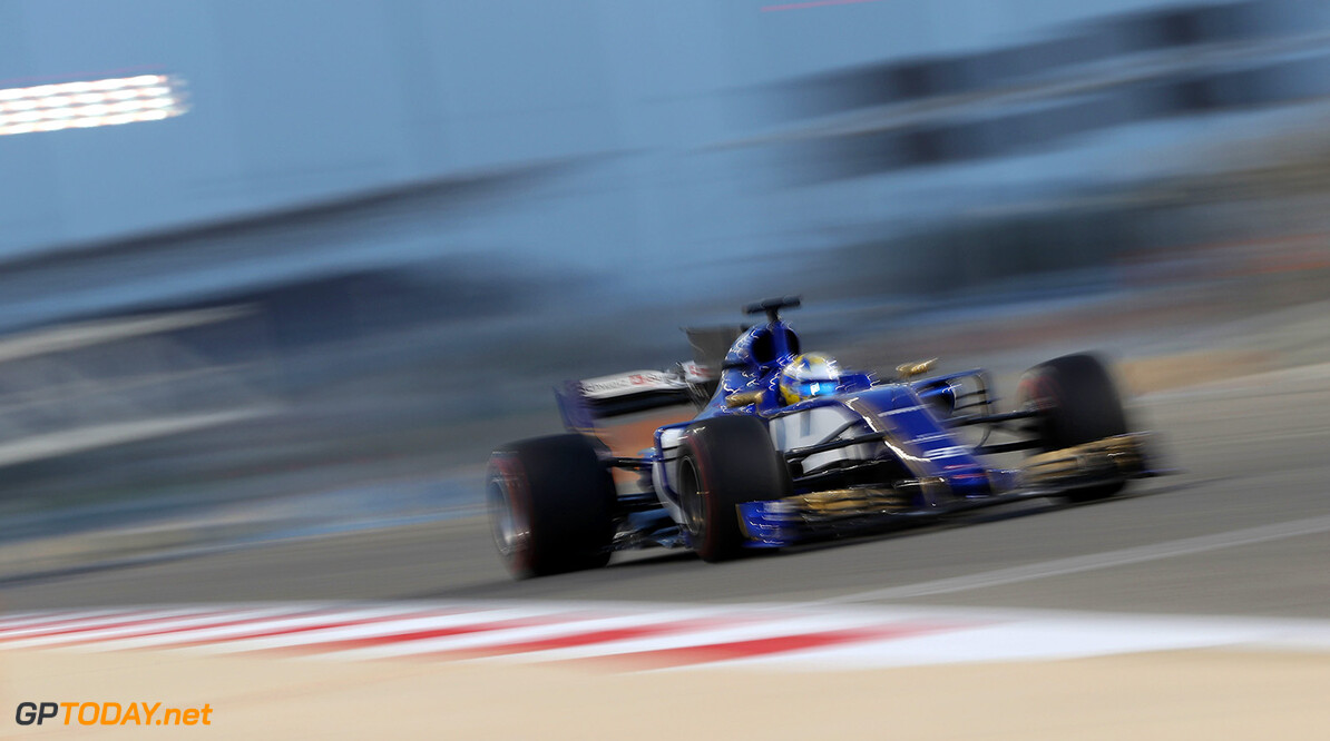 Bahrain F1 test 18-19/04/17 Marcus Ericsson (SWE), Sauber F1 Team.  Bahrain International Circuit.  Bahrain F1 test 18-19/04/17 Jad Sherif                Sakhir Bahrain  F1 Formula One testing action Ericsson Sauber