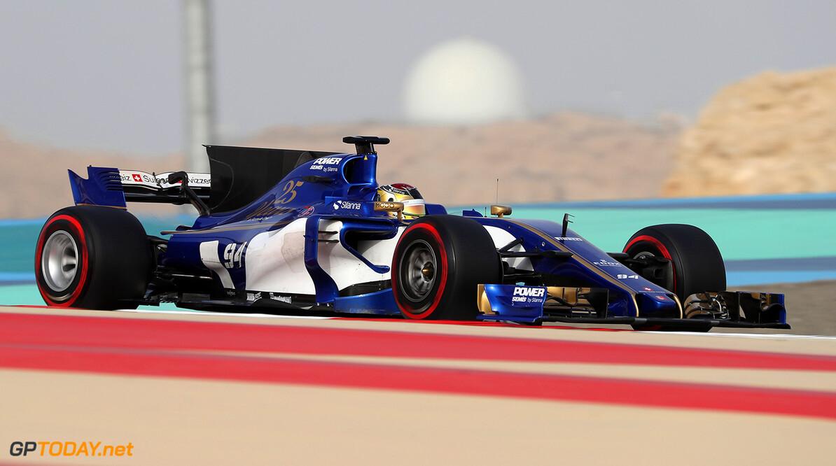 Bahrain F1 test 18-19/04/17 Pascal Wehrlein (D), Sauber F1 Team.  Bahrain International Circuit.  Bahrain F1 test 18-19/04/17 Jad Sherif                Sakhir Bahrain  F1 Formula One testing Action Wehrlein Sauber