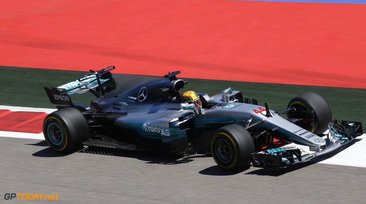 Mercedes happy after successful Friday
