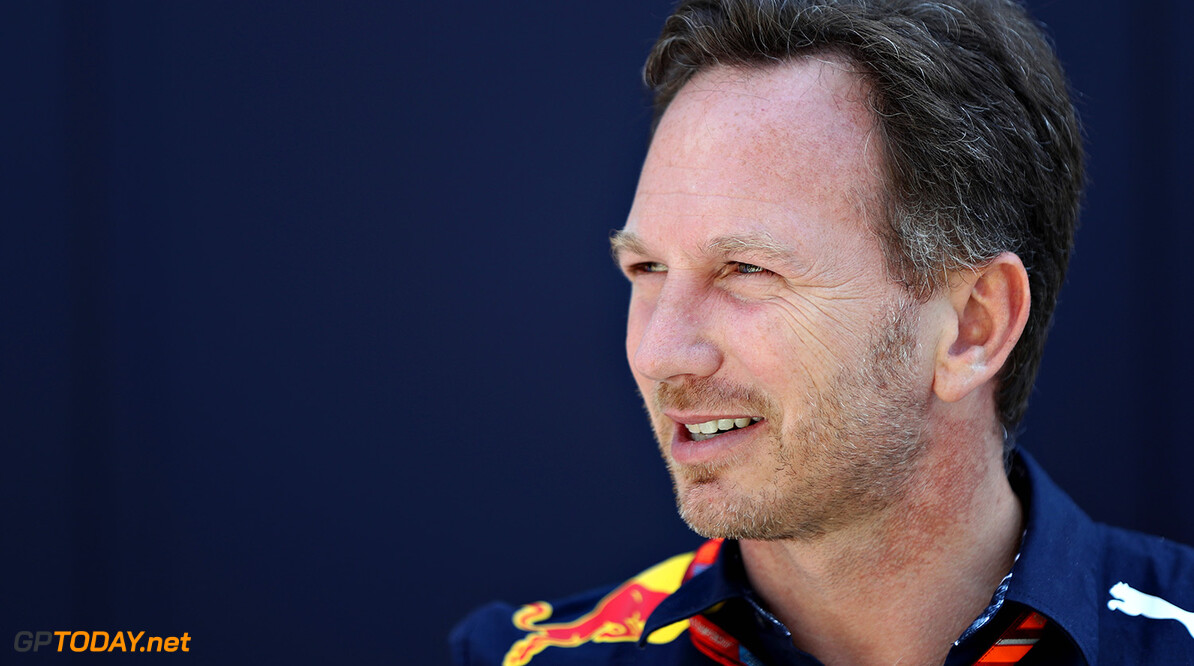 SOCHI, RUSSIA - APRIL 30:  Red Bull Racing Team Principal Christian Horner in the Paddock during the Formula One Grand Prix of Russia on April 30, 2017 in Sochi, Russia.  (Photo by Mark Thompson/Getty Images) // Getty Images / Red Bull Content Pool  // P-20170430-00560 // Usage for editorial use only // Please go to www.redbullcontentpool.com for further information. //  F1 Grand Prix of Russia Mark Thompson Sochi Russian Federation  P-20170430-00560