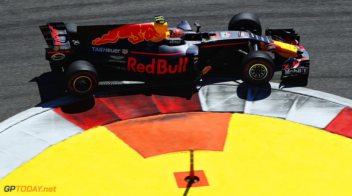 SOCHI, RUSSIA - APRIL 30: Max Verstappen of the Netherlands driving the (33) Red Bull Racing Red Bull-TAG Heuer RB13 TAG Heuer on track during the Formula One Grand Prix of Russia on April 30, 2017 in Sochi, Russia.  (Photo by Clive Mason/Getty Images) // Getty Images / Red Bull Content Pool  // P-20170501-00380 // Usage for editorial use only // Please go to www.redbullcontentpool.com for further information. //  F1 Grand Prix of Russia Clive Mason Sochi Russian Federation  P-20170501-00380