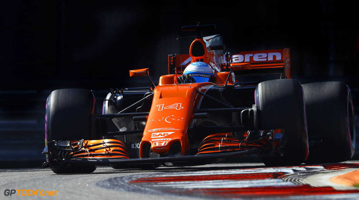 Alonso takes positive in seeing the chequered flag