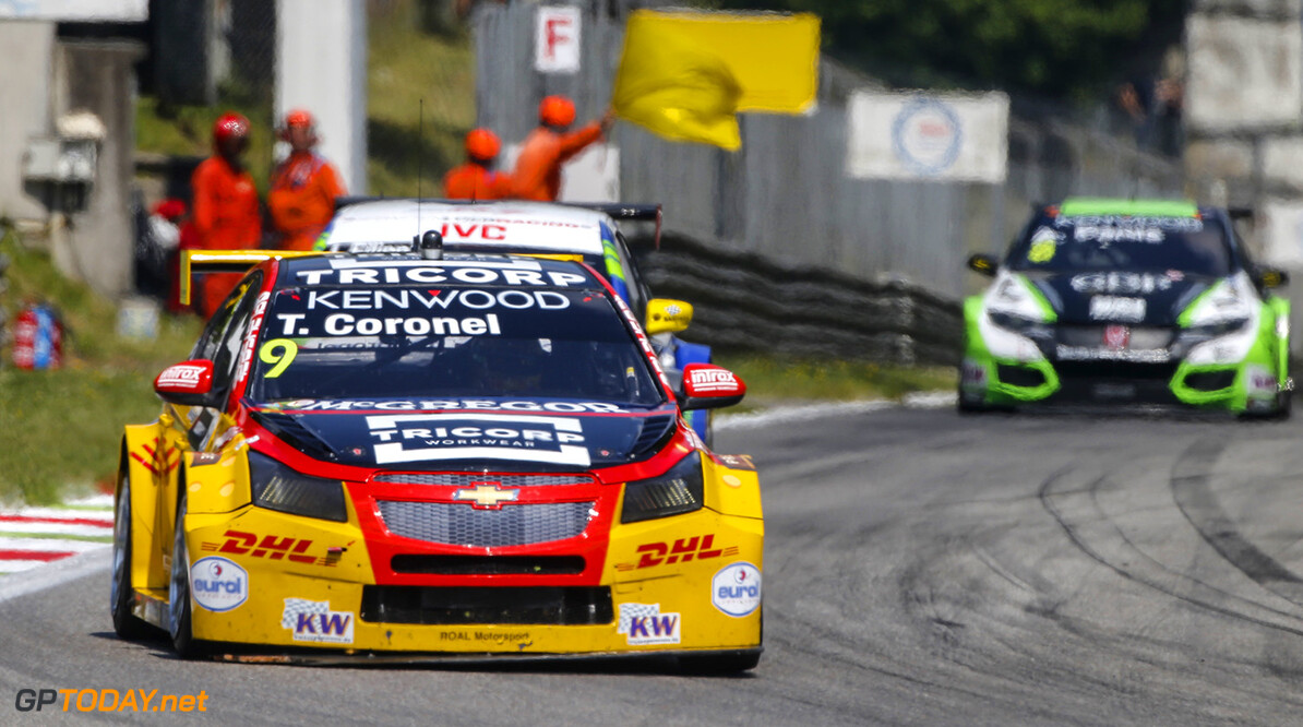 09 CORONEL Tom (ned) Chevrolet RML Cruze team ROAL Motorsport action during the 2017 FIA WTCC World Touring Car Race of Italy at Monza, from April 28 to 30  - Photo Francois Flamand / DPPI AUTO - WTCC MONZA 2017 Francois Flamand Monza Italie  avril auto championnat du monde circuit course fia italie motorsport tourisme wtcc