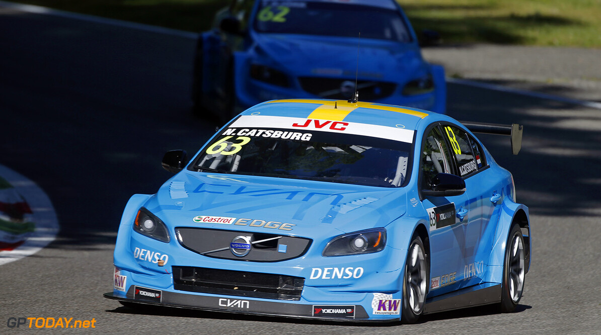 63 CATSBURG Nicky (ned) Volvo S60 Polestar team Polestar Cyan Racing action during the 2017 FIA WTCC World Touring Car Race of Italy at Monza, from April 28 to 30  - Photo Francois Flamand / DPPI AUTO - WTCC MONZA 2017 Francois Flamand Monza Italie  avril auto championnat du monde circuit course fia italie motorsport tourisme wtcc