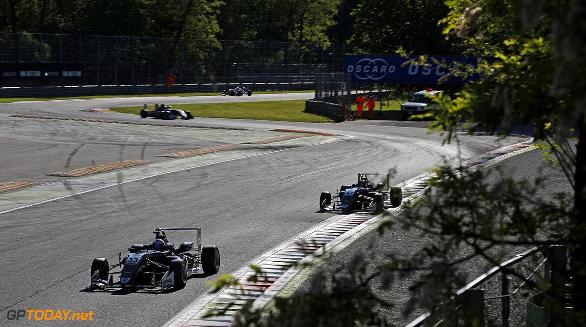 FIA Formula 3 European Championship, round 2, Monza (ITA) 33 Marino Sato (JPN, Motopark, Dallara F317 - Volkswagen), FIA Formula 3 European Championship, round 2, Monza (ITA), 28. - 30. April 2017 FIA Formula 3 European Championship 2017, round 2, Monza (ITA) Thomas Suer Monza Italy