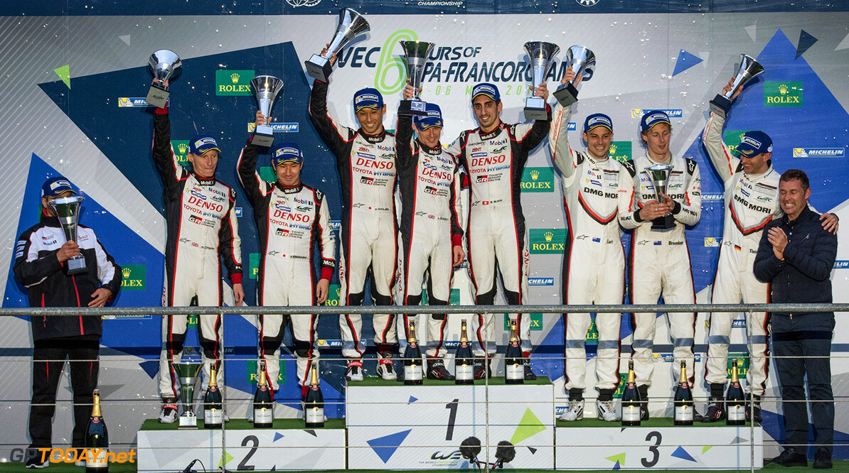 MH-0913.jpg LMP1 Podium at the WEC 6 Hours of Spa - Circuit de Spa-Francorchamps - Spa - Belgium  LMP1 Podium at the WEC 6 Hours of Spa - Circuit de Spa-Francorchamps - Spa - Belgium  Marius Hecker Spa Belgium  Adrenal Media WEC 6 Hours of Spa - Circuit de Spa-Francorchamps - Spa - Belgiu