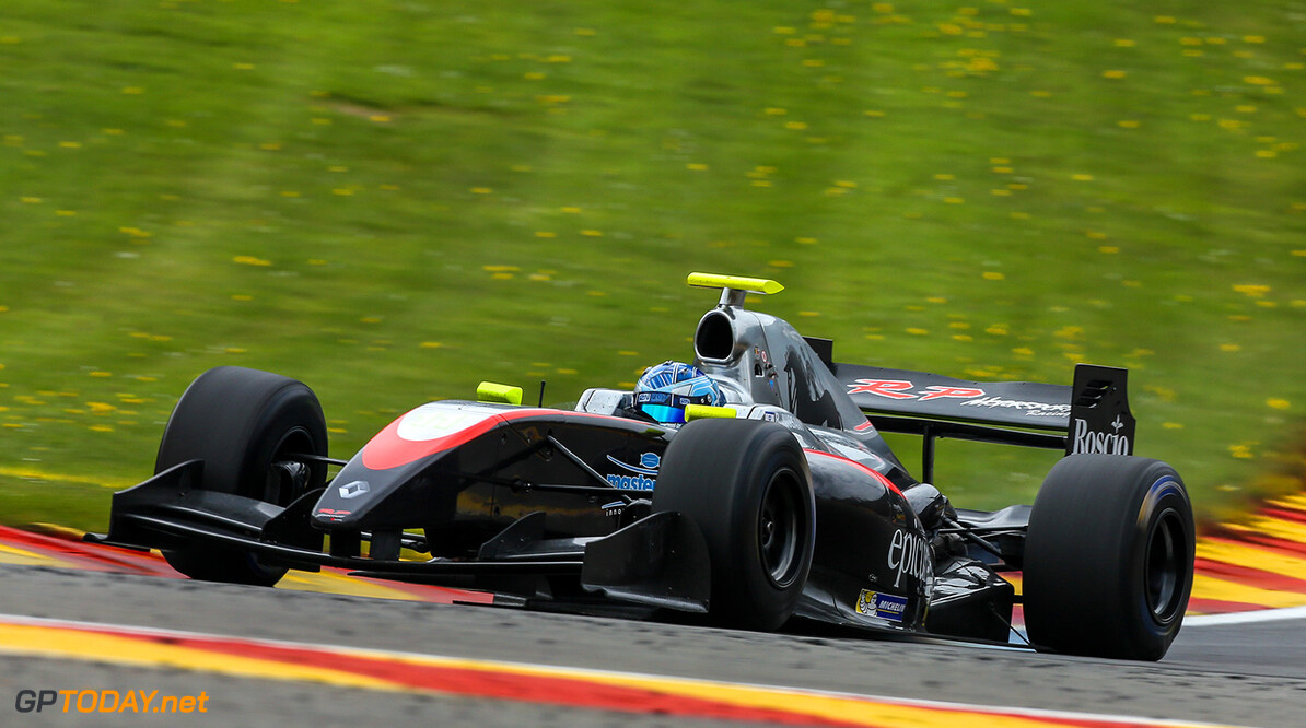 SPA FRANCORCHAMPS (BEL) MAY 4-6 2017 - second round of the Worldseries Formula V8 3.5 at Spa Francorchamps. Roy Nissany #11 RP Motorsport. Action. (C) 2017 Klaas Norg  / Dutch Photo Agency SPA FRANCORCHAMPS RACING FORMULA V8 2017     Auto Autosport Belgium Car Formula Michelin Motorsports Race Racing Renault Spa-Francorchamps Track World Series