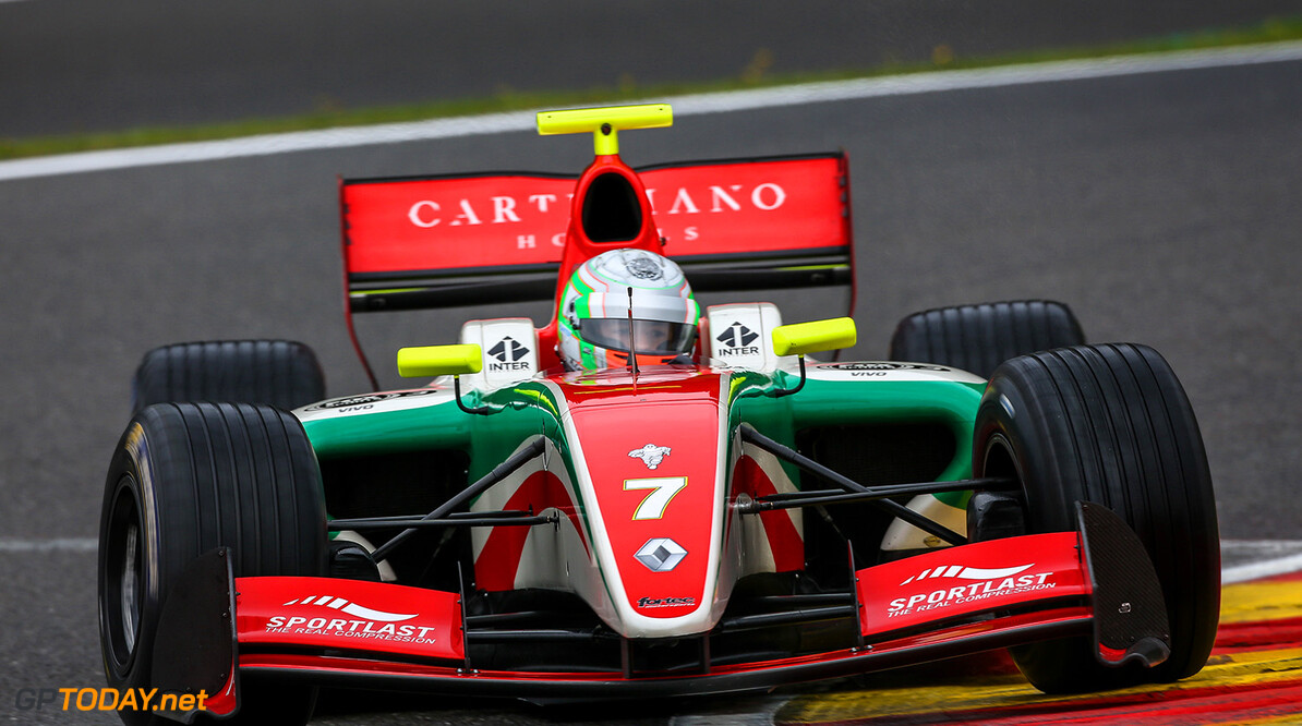 SPA FRANCORCHAMPS (BEL) MAY 4-6 2017 - second round of the Worldseries Formula V8 3.5 at Spa Francorchamps. Alfonso Celis #7 Fortec Motorsports. Action. (C) 2017 Klaas Norg  / Dutch Photo Agency SPA FRANCORCHAMPS RACING FORMULA V8 2017     Auto Autosport Belgium Car Formula Michelin Motorsports Race Racing Renault Spa-Francorchamps Track World Series