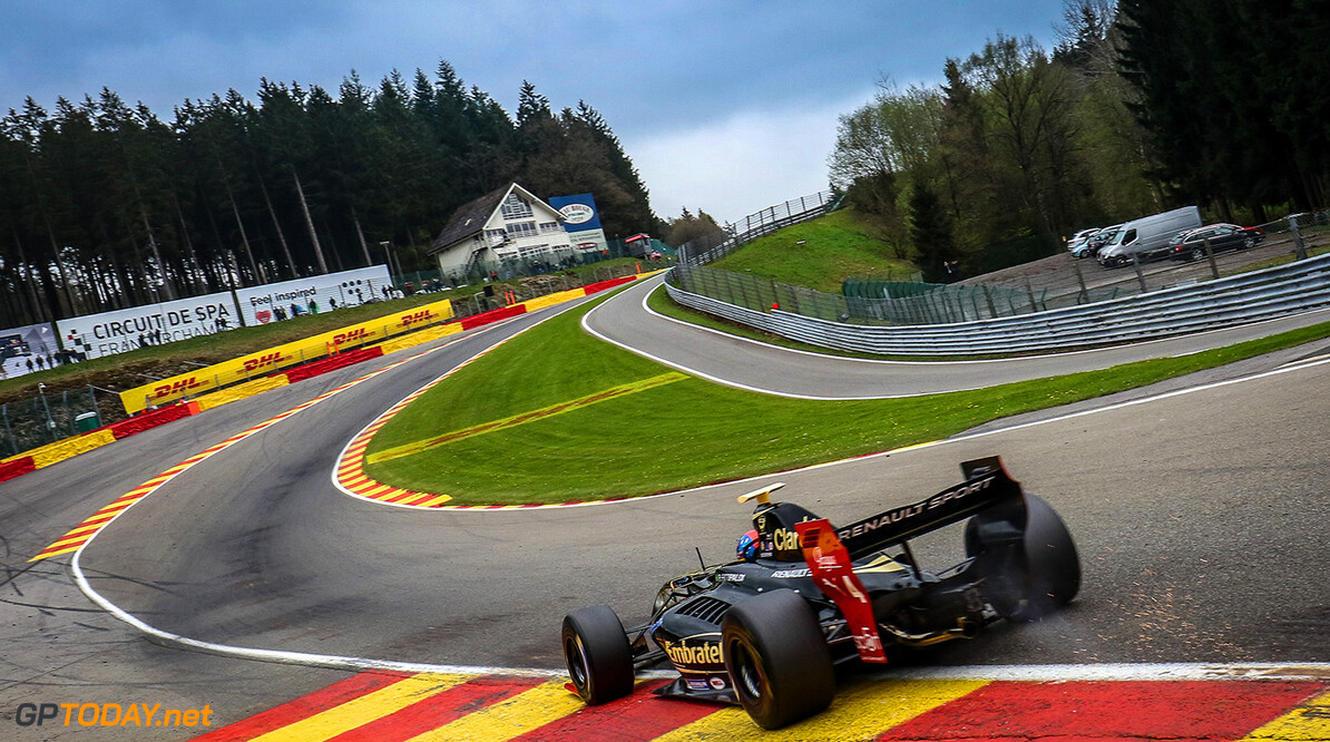 SPA FRANCORCHAMPS (BEL) MAY 4-6 2017 - second round of the Worldseries Formula V8 3.5 at Spa Francorchamps. Pietro Fittipaldi #4 Lotus. Action. (C) 2017 Klaas Norg  / Dutch Photo Agency SPA FRANCORCHAMPS RACING FORMULA V8 2017     Auto Autosport Belgium Car Formula Michelin Motorsports Race Racing Renault Spa-Francorchamps Track World Series