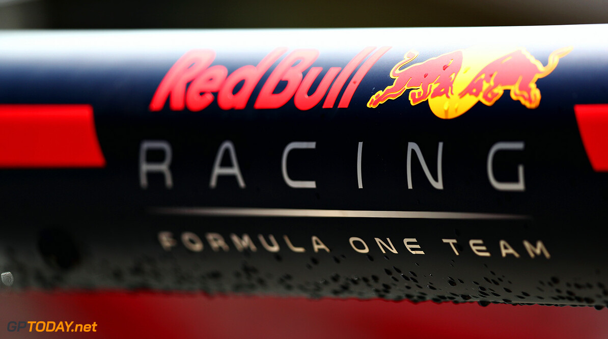 MONTMELO, SPAIN - MAY 11:  Red Bull Racing branding in the Pitlane during previews for the Spanish Formula One Grand Prix at Circuit de Catalunya on May 11, 2017 in Montmelo, Spain.  (Photo by Dan Istitene/Getty Images) // Getty Images / Red Bull Content Pool  // P-20170511-00436 // Usage for editorial use only // Please go to www.redbullcontentpool.com for further information. //  Spanish F1 Grand Prix - Previews Dan Istitene  Spain  P-20170511-00436