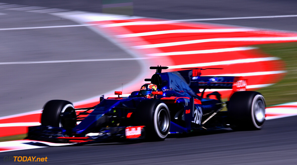 MONTMELO, SPAIN - MAY 12: Daniil Kvyat of Russia driving the (26) Scuderia Toro Rosso STR12 on track during practice for the Spanish Formula One Grand Prix at Circuit de Catalunya on May 12, 2017 in Montmelo, Spain.  (Photo by Alex Caparros/Getty Images) // Getty Images / Red Bull Content Pool  // P-20170512-00592 // Usage for editorial use only // Please go to www.redbullcontentpool.com for further information. //  Spanish F1 Grand Prix - Practice Alex Caparros  Spain  P-20170512-00592