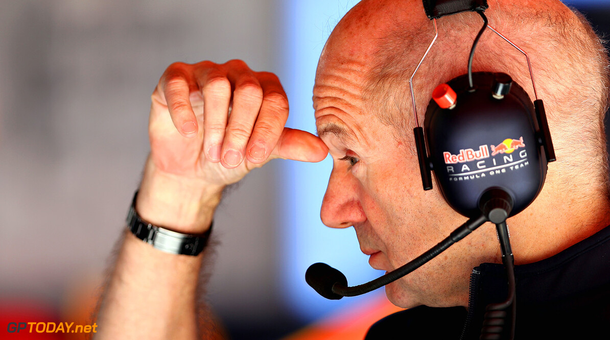 MONTMELO, SPAIN - MAY 12:  Adrian Newey, the Chief Technical Officer of Red Bull Racing in the garage during practice for the Spanish Formula One Grand Prix at Circuit de Catalunya on May 12, 2017 in Montmelo, Spain.  (Photo by Mark Thompson/Getty Images) // Getty Images / Red Bull Content Pool  // P-20170512-00841 // Usage for editorial use only // Please go to www.redbullcontentpool.com for further information. //  Spanish F1 Grand Prix - Practice Mark Thompson  Spain  P-20170512-00841