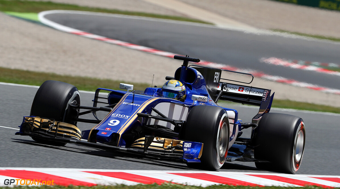 Spanish GP Friday 12/05/17 Marcus Ericsson (SWE) Sauber F1 Team.  Circuit de Barcelona-Catalunya.  Spanish GP Friday 12/05/17 Jad Sherif                       Montmelo Spain  F1 Formula 1 One 2017 action Ericsson Sauber
