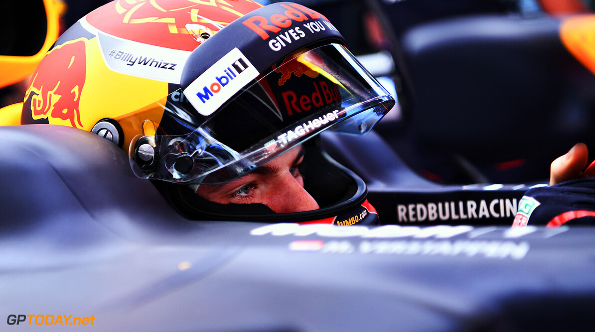 MONTMELO, SPAIN - MAY 12:  Max Verstappen of Netherlands and Red Bull Racing prepares to drive in the garage during practice for the Spanish Formula One Grand Prix at Circuit de Catalunya on May 12, 2017 in Montmelo, Spain.  (Photo by David Ramos/Getty Images) // Getty Images / Red Bull Content Pool  // P-20170512-00575 // Usage for editorial use only // Please go to www.redbullcontentpool.com for further information. //  Spanish F1 Grand Prix - Practice David Ramos  Spain  P-20170512-00575