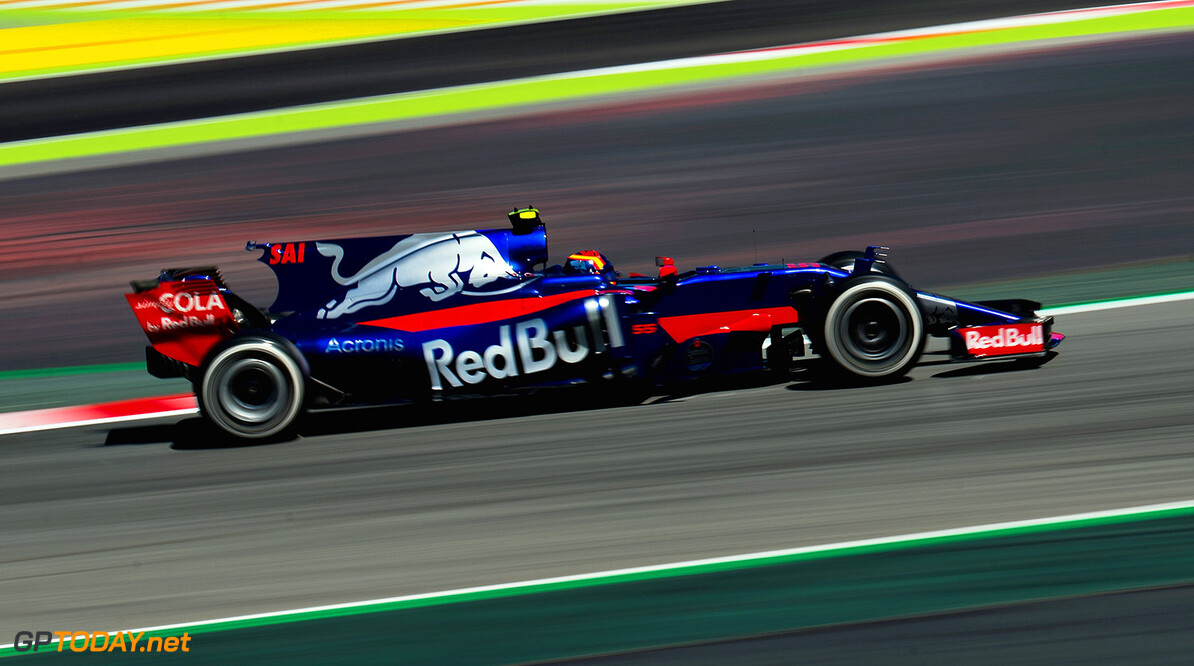 MONTMELO, SPAIN - MAY 12: Carlos Sainz of Spain driving the (55) Scuderia Toro Rosso STR12 on track during practice for the Spanish Formula One Grand Prix at Circuit de Catalunya on May 12, 2017 in Montmelo, Spain.  (Photo by David Ramos/Getty Images) // Getty Images / Red Bull Content Pool  // P-20170512-01902 // Usage for editorial use only // Please go to www.redbullcontentpool.com for further information. //  Spanish F1 Grand Prix - Practice David Ramos  Spain  P-20170512-01902