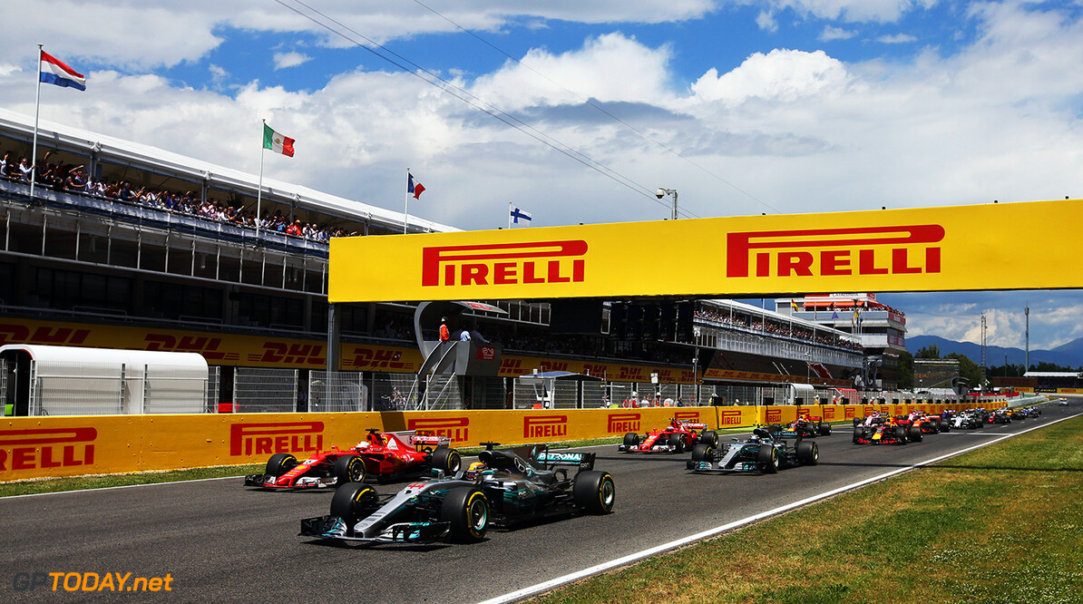 Circuit de Catalunya, Barcelona, Spain. Sunday 14 May 2017. World Copyright: Charles Coates/LAT Images ref: Digital Image DJ5R0535      f1 formula 1 formula one gp