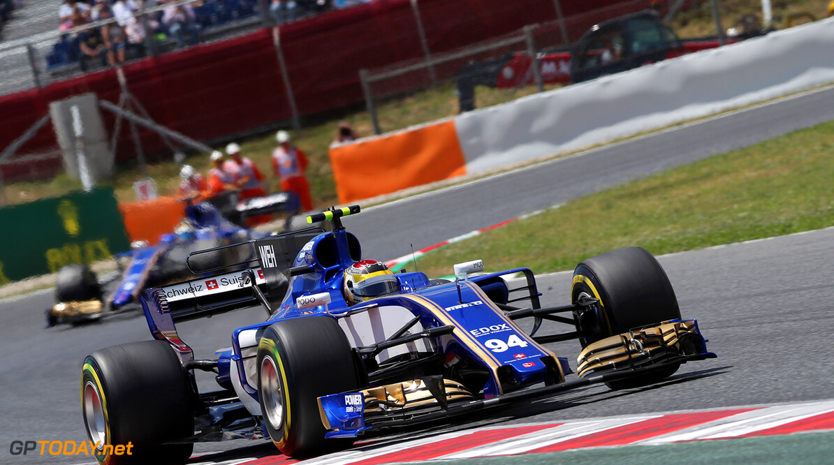 Spanish GP Race 14/05/17 Pascal Wehrlein (D), Sauber F1 Team  Circuit de Barcelona-Catalunya. Spanish GP Race 14/05/17 Jad Sherif                       Montmelo Spain  F1 Formula 1 One 2017 action Wehrlein Sauber