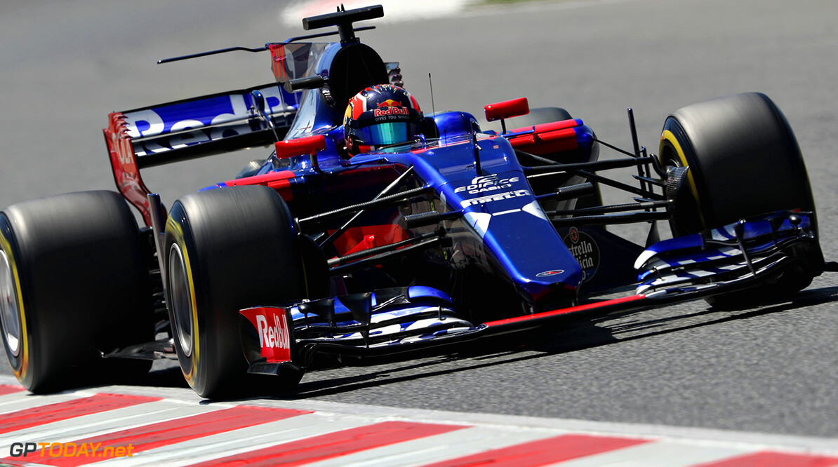 MONTMELO, SPAIN - MAY 14: Daniil Kvyat of Russia driving the (26) Scuderia Toro Rosso STR12 on track during the Spanish Formula One Grand Prix at Circuit de Catalunya on May 14, 2017 in Montmelo, Spain.  (Photo by Mark Thompson/Getty Images) // Getty Images / Red Bull Content Pool  // P-20170514-01084 // Usage for editorial use only // Please go to www.redbullcontentpool.com for further information. //  Spanish F1 Grand Prix Mark Thompson  Spain  P-20170514-01084