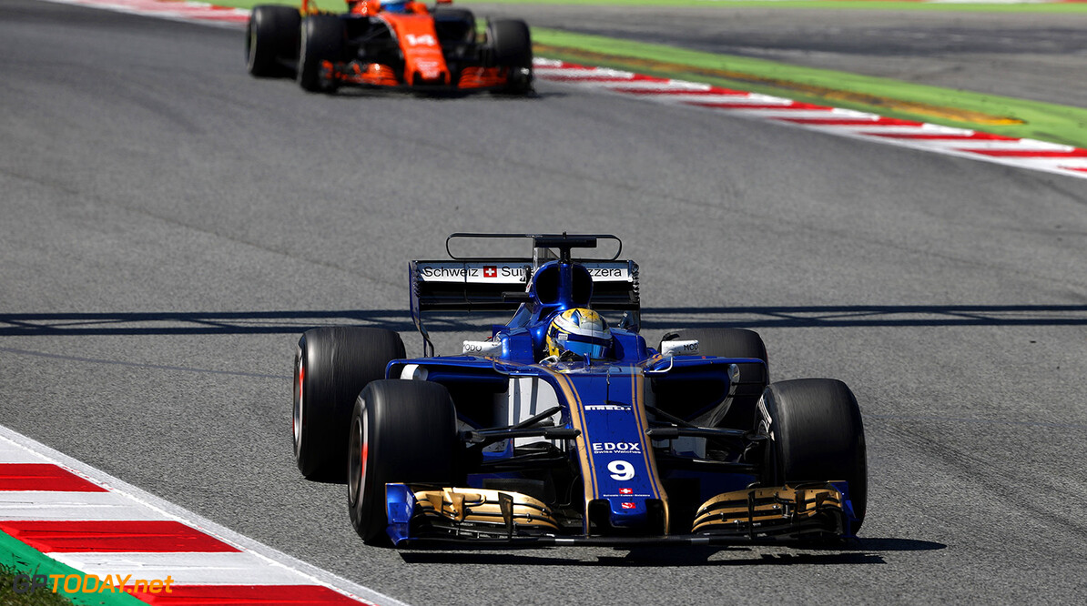 Spanish GP Race 14/05/17 Marcus Ericsson (SWE), Sauber F1 Team.  Circuit de Barcelona-Catalunya. Spanish GP Race 14/05/17 Jad Sherif                       Montmelo Spain  F1 Formula 1 One 2017 action Ericsson Sauber
