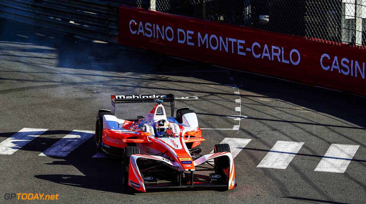 2016/2017 FIA Formula E Championship. Monte-Carlo, Monaco Saturday 13 May 2017. Felix Rosenqvist (SWE), Mahindra Racing, Spark-Mahindra, Mahindra M3ELECTRO. Photo: Sam Bloxham/LAT/Formula E ref: Digital Image _J6I5276 2016/2017 FIA Formula E Championship. Sam Bloxham