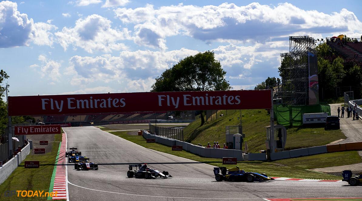 2017 GP3 Series Round 1.  Circuit de Catalunya, Barcelona, Spain. Saturday 13 May 2017. Tatiana Calderon (COL, DAMS)  Photo: Zak Mauger/GP3 Series Media Service. ref: Digital Image _56I9282   Zak Mauger    Race One 1 action