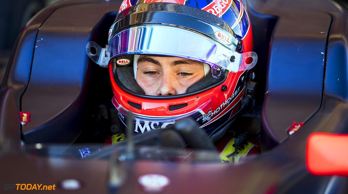 2017 GP3 Series Round 1.  Circuit de Catalunya, Barcelona, Spain. Friday 12 May 2017. Steijn Schothorst (NED, Arden International)  Photo: Zak Mauger/GP3 Series Media Service. ref: Digital Image _54I7767   Zak Mauger    Practice
