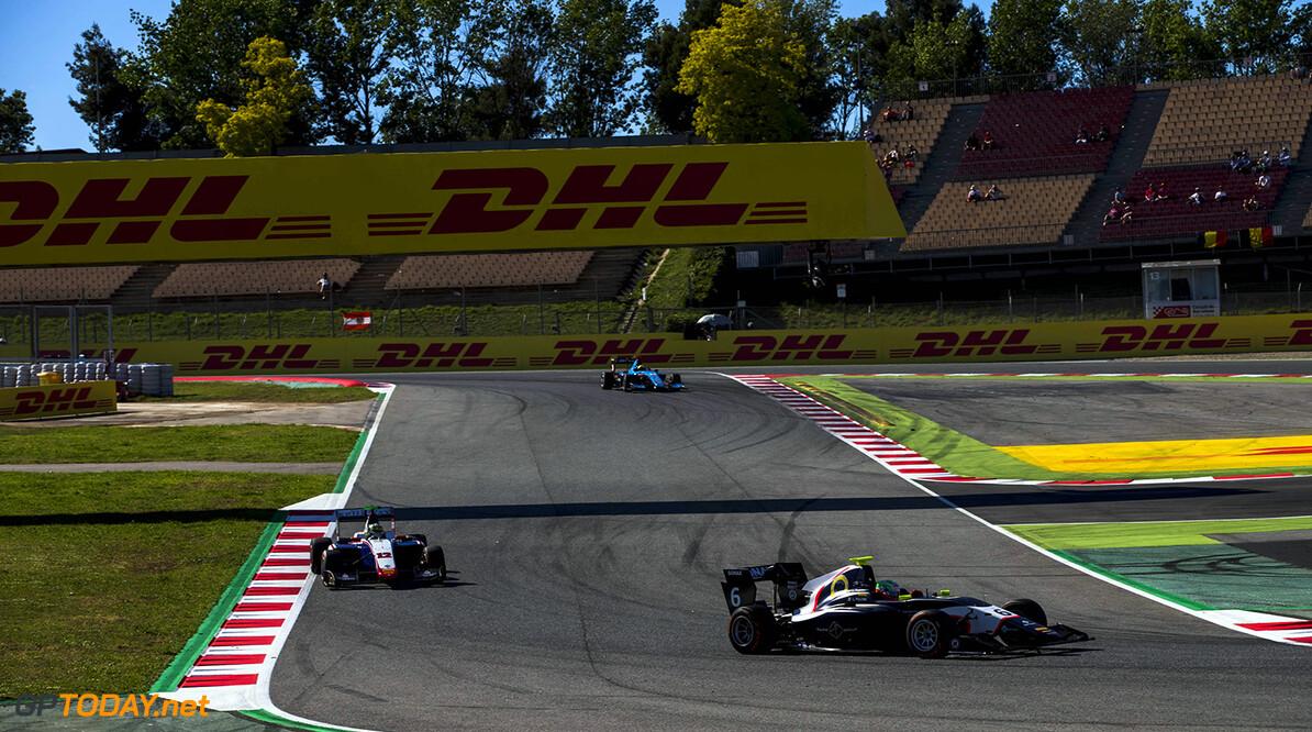 2017 GP3 Series Round 1.  Circuit de Catalunya, Barcelona, Spain. Saturday 13 May 2017. Leonardo Pulcini (ITA, Arden International)  Photo: Zak Mauger/GP3 Series Media Service. ref: Digital Image _56I9305   Zak Mauger    Race One 1 action
