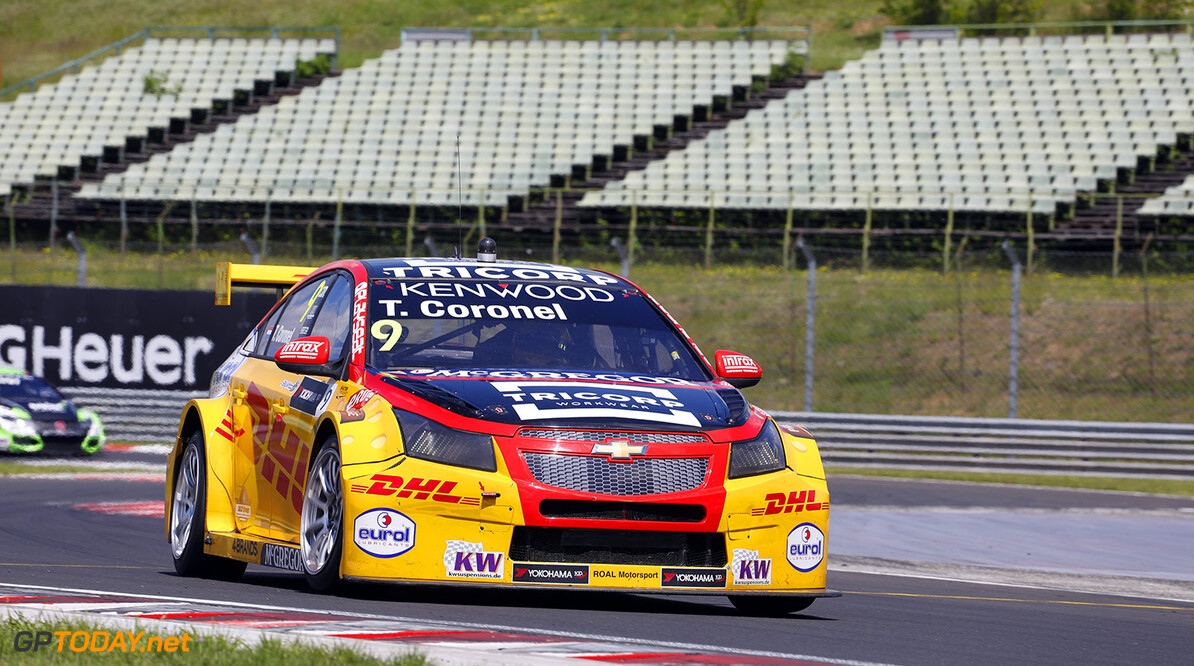 09 CORONEL Tom (ned), Chevrolet RML Cruze team ROAL Motorsport, action   during the 2017 FIA WTCC World Touring Car Race of Hungary at hungaroring, Budapest from may 12 to 14 - Photo Frederic Le Floc'h / DPPI AUTO - WTCC HUNGARY 2017 Frederic Le Floc'h Budapest Hongrie  Auto CHAMPIONNAT DU MONDE CIRCUIT COURSE Europe FIA Motorsport TOURISME WTCC hongrie mai