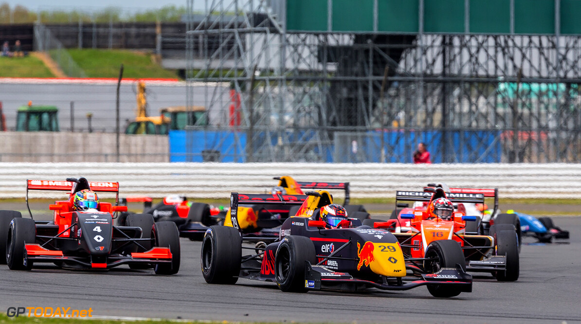 AUTO - EUROCUP FORMULA RENAULT 2.0 - SILVERSTONE  2017 29 VERSCHOOR Richard (nld) Renault FR 2.0L team MP motorsport action during Renault sport series 2017, Eurocup Formula Renault 2.0, at Silverstone, Great Britain, from may 12 to 14 - Photo Clement Luck / DPPI AUTO - EUROCUP FORMULA RENAULT 2.0 - SILVERSTONE  2017 Clement Luck Silverstone Great Britain  angleterre f 2.0 formule renault monoplace renault
