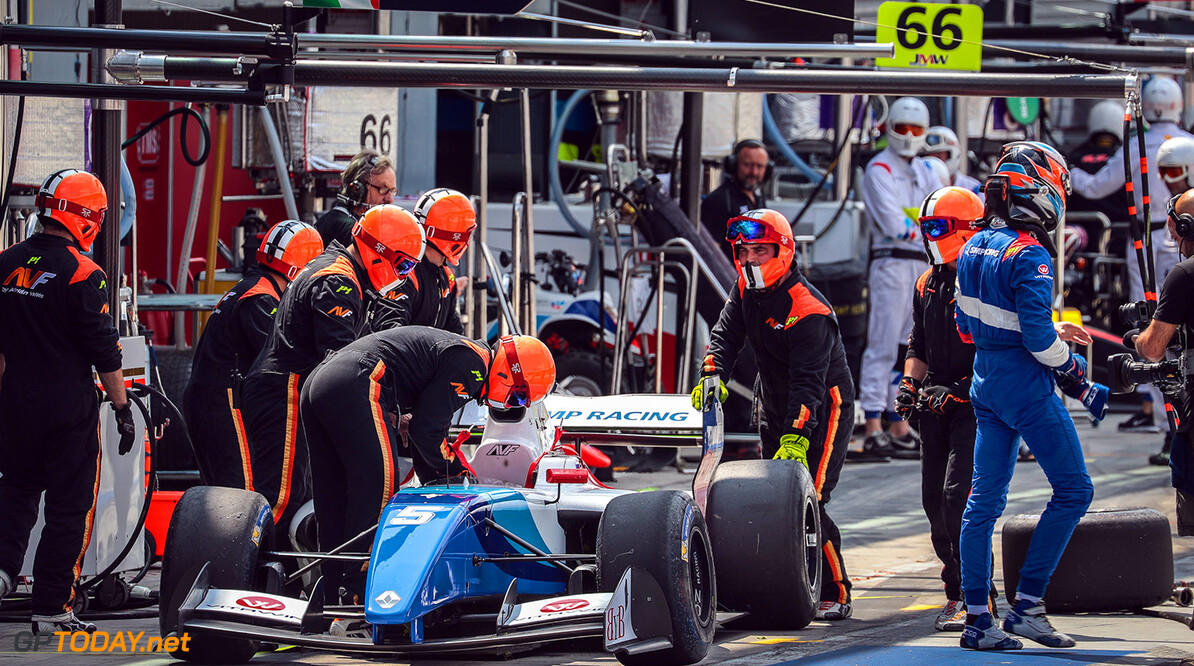 MONZA-RACING-FORMULA V8 MONZA (ITA) MAY 12-14 2017 -  Third round of the World Series Formula V8 3.5 at Autodromo di Monza. Egor Orudzhev #05 SMP Racing by AVF. Action. (C) 2017 Diederik van der Laan  / Dutch Photo Agency  Diederik van der Laan Monza Italy  Auto Autodromo Autosport Car Eurocup Formula Italy Michelin Monza Motorsports Race Racing Renault Track World Series