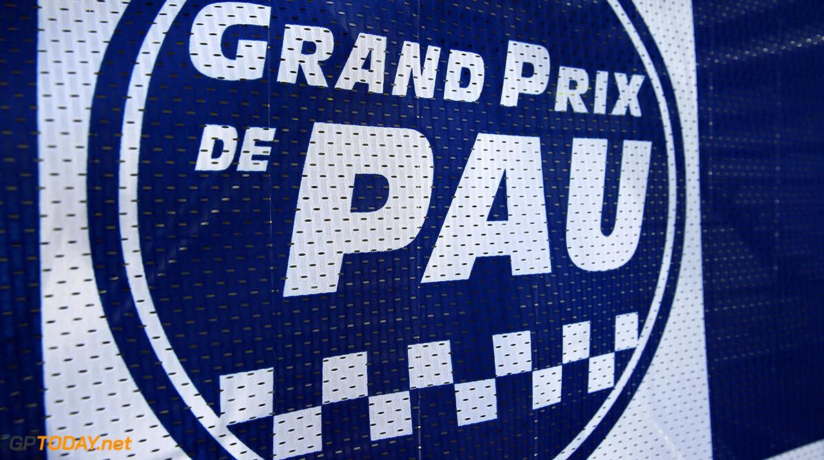 FIA Formula 3 European Championship, round 3, race 2, PAU (FRA) Grand Prix de Pau logo, FIA Formula 3 European Championship, round 3, race 2, Pau (FRA), 19. - 21. May 2017 FIA Formula 3 European Championship 2017, round 3, race 2, Pau (FRA) Thomas Suer Pau France