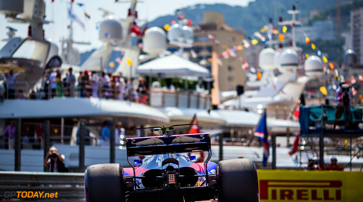 MONTE-CARLO, MONACO - MAY 25:  25:  Carlos Sainz of Scuderia Toro Rosso and Spain during practice for the Monaco Formula One Grand Prix at Circuit de Monaco on May 25, 2017 in Monte-Carlo, Monaco.  (Photo by Peter Fox/Getty Images) // Getty Images / Red Bull Content Pool  // P-20170525-01071 // Usage for editorial use only // Please go to www.redbullcontentpool.com for further information. //  F1 Grand Prix of Monaco - Practice Peter Fox Monte-Carlo (City) Monaco  P-20170525-01071